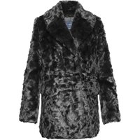 French Connection Nariko Faux Fur Coat, Black