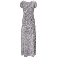Adrianna Papell Sequin dress, Grey