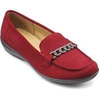 Hotter Eternity Smart Stylish Shoes, Red
