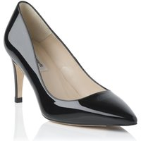 L.K.Bennett Florette single sole point shoe, Black