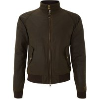 Men's Barbour Wax Steve McQueen merchant bomber jacket, Olive