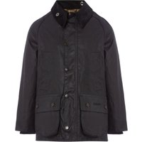 Barbour Classic Bedale Cord Collar Classic Wax Jacket, Blue