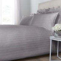 Luxury Hotel Collection Woven stripe deep fitted sheet