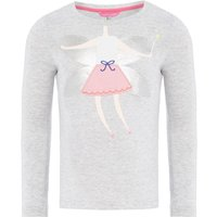 Joules Girls Fairy Body T-Shirt, Grey - Fairy Gifts