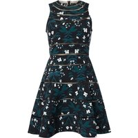Keepsake Fit & Flare Midi Dress, Multi-Coloured