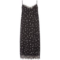 Therapy Star print cami dress, Black