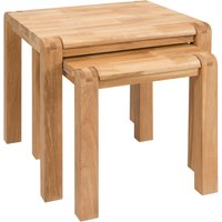 Linea Camden Nest of Tables, Brown