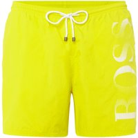 Men's Hugo Boss Octopus Swim Shorts, Yellow