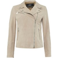 Replay Suede leather jacket, Grey