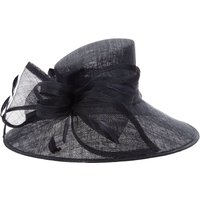 Suzanne Bettley Large adjustable brim bow hat, Blue