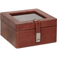 linea genuine leather watch box
