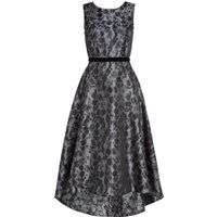Ariella Midi High Low Prom Dress, Grey