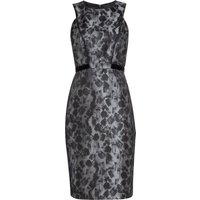 Ariella Brush Stroke bodycon dress, Grey