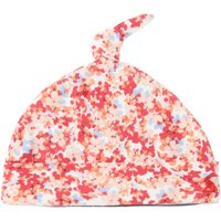 Joules Baby Ditsy Floral Knot Top, Pink