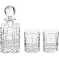 Linea Constantine Lead Crystal Whisky Set