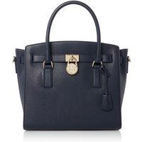 Michael Kors Hamilton large satchel tote bag, Blue