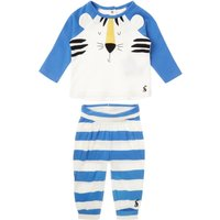 Joules Baby Boy Tiger Print Leggings and T-Shirt Set, Blue
