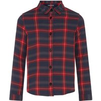 Zadig and Voltaire Girls Checked Cotton Shirt, Multi-Coloured