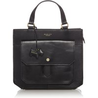Radley Heathfield medium ziptop multiway tote bag, Black