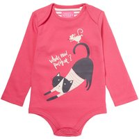 Joules Baby Girls Cat & Mouse Body, Pink
