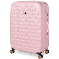 Ted Baker Beau Pink 4 Wheel Large Suitcase, Pink