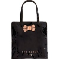 Ted Baker Vallcon bow detail large bowcon tote bag, Black
