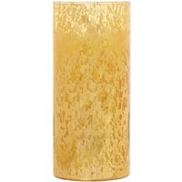 Luminara Gold Mercury Glass 7 LED Candle, Gold