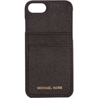 Michael Kors Electronic leather iphone 7 cover, Black - Electronic Gifts