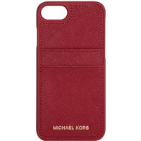 Michael Kors Electronic leather iphone 7 cover, Red - Electronic Gifts