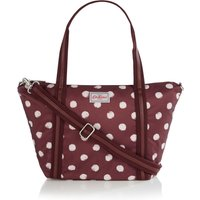 Cath Kidston Smudge Spot Small Travel Tote Bag, Red