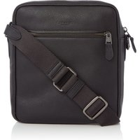 Coach Metropolitan Pebble Leather Flight Bag, Black