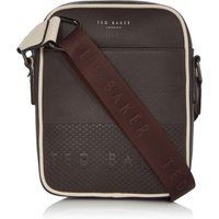 Ted Baker Aight Embossed Mini Crossbody Bag, Chocolate
