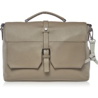 Ted Baker Sandune Colour Leather Messenger, Grey