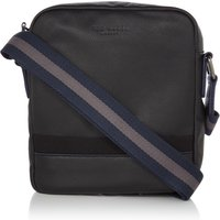Ted Baker Minilow Core Leather Mini Crossbody, Black