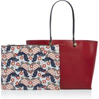 Furla Eden medium tote with pouch, Red