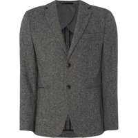 Men's Selected Homme Duncan Herringbone Blazer, Grey