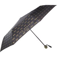 Ted Baker All over bow umbrella, Black