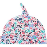 Joules Baby Girls Ditsy Kitty Hat, Pink