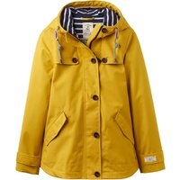 Joules Waterproof Hooded Jacket With Toggle, Yellow