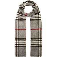 Label Lab Check scarf, Grey