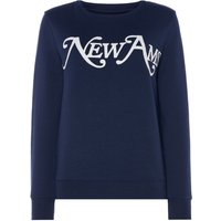 Another Label Junot sweatshirt, Blue