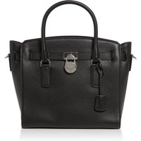 Michael Kors Hamilton large satchel tote bag, Black