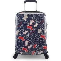 Radley SPECKLE DOG CABIN SUITCASE, Blue