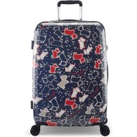 Radley SPECKLE DOG MEDIUM SUITCASE, Blue