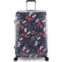 Radley SPECKLE DOG LARGE SUITCASE, Blue
