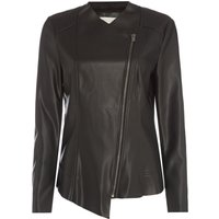 Maison De Nimes Waterfall PU Jacket, Black