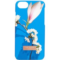 Ted Baker Coffee harmony iphone 8 clip case, Bright Blue