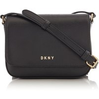 DKNY Sutton mini cross body saddle, Black