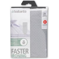 Brabantia Ironing Board Cover 124x38cm, Silver, Silver