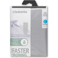 Brabantia Ironing Board Cover 124x45cm, Silver, Silver